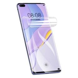 Huawei P40 Pro 2-PACK Mjukt Skärmskydd 3D PET 9H 0,2mm Transparent/Genomskinlig