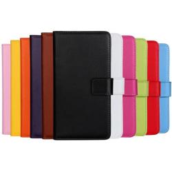 Stilrent Exklusivt VINTAGE Plånboksfodral i läder iPhone 7 PLUS Rosa