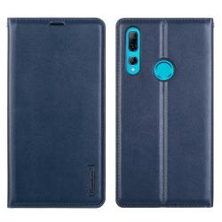 Exklusivt Smidigt Plånboksfodral - Huawei P Smart Z Marinblå