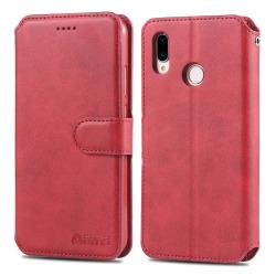 Plånboksfodral Yazunshi - Huawei P Smart 2019 Röd Röd