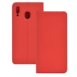 Huawei P Smart Z - Exklusivt Praktiskt Plånboksfodral Röd