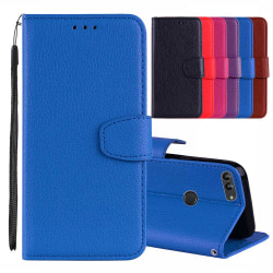 Robust Nkobee Plånboksfodral - Huawei Honor 9 Lite Blå
