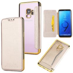 Fodral från JENSEN till Samsung Galaxy S9+ Guld