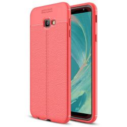 Samsung Galaxy J4 Plus 2018 - Skyddande Skal (AUTO FOCUS) Röd