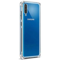 Skal - Samsung Galaxy A70 Transparent/Genomskinlig