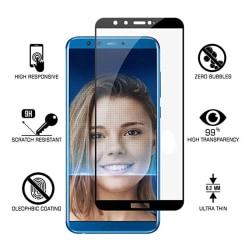 Skärmskydd 2.5D 2-PACK Ram 9H HD-Clear Screen-Fit Honor 9 Lite Svart