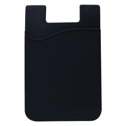 Stilrent korthållare (Självhäftande) för Mobiltelefoner Svart