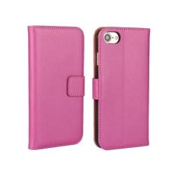 Stiltent Plånboksfodral i läder för iPhone 6/6S (NORTH) Rosa