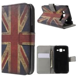 Plånboksfodral till Samsung Galaxy Core Prime Retro UK Svart