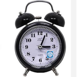 Retro väckarklocka - Svart Svart