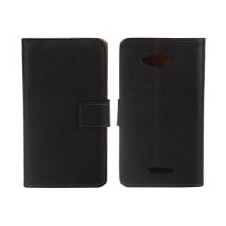 Sony Xperia E4g Plånboksfodral Svart