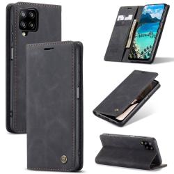 CASEME Plånboksfodral Samsung Galaxy A12 - Svart Svart