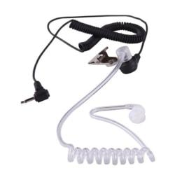 3.5mm Headset Öronsnäcka Headset 1 Pin Ham- Amatör-radio Svart