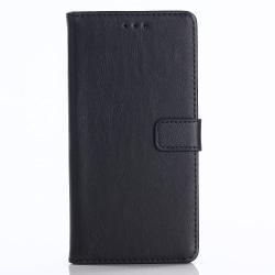 Huawei Honor 10 Retro Plånboksfodral - Svart Svart