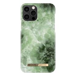 iDeal Of Sweden iPhone 12 / iPhone 12 Pro skal - Crystal Green S Grön