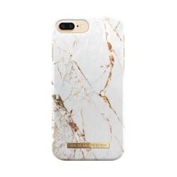 iDeal Of Sweden iPhone 8/7/6 Plus Marmor skal - Guld Guld