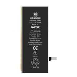 IPARTSEXPERT Batteri 2260mAh iPhone 6 Svart