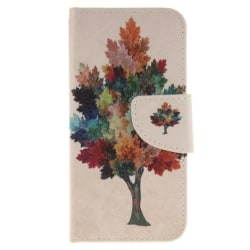 iPhone 7 / iPhone 8 Plånboksfodral Colorized Tree multifärg