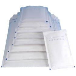 MASTERIN A/11 Vadderade kuvert / Luftbubbelpåse 100x165 mm 200st Vit