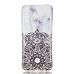 MTK Samsung Galaxy A70 TPU Marmor - Style B Svart