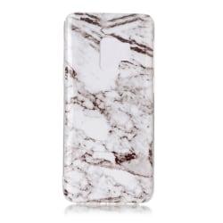 MTK Samsung Galaxy S9 SM-G960 TPU  - Marmor White / Grey