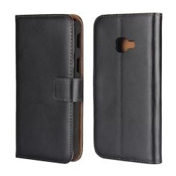 Plånboksfodral Samsung Galaxy Xcover 4 / 4s i Svart Läder Svart