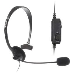 Playstation 4 / PS4 Headset med Mikrofon Svart