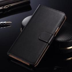 Samsung Galaxy S6 Edge plånboksfodral SVART Svart