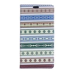 Sony Xperia X Plånboksfodral Tribal Pattern Svart