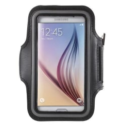 Sportarmband till Samsung Galaxy S7 - Svart Svart