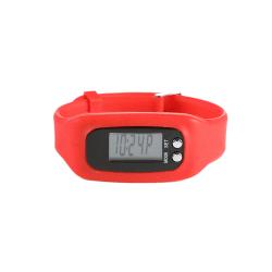 Stegräknare Pedometer GymTop - Röd