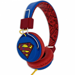 SUPERMAN Hörlur Tween On-Ear 100dB Blå Vintage multifärg