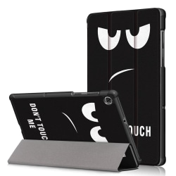 Tri-fold Fodral till Lenovo Tab M10 Plus FHD - Do not Touch Me Svart
