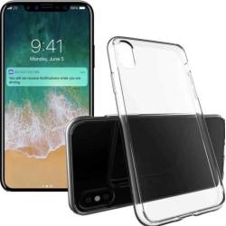 iPhone Xr Skal  / Transparent / Tunt silikon skal tunt- 0,3mm