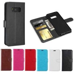 Plånboksfodral Galaxy S7| Läder | 3 kort + ID| ALLA FÄRGER! svart