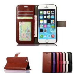 Plånboksfodral till iPhone 6 / 6s  SLITSTARK & Tålig ALLA FÄRGER brun