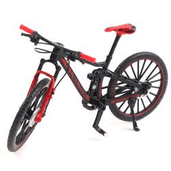 1:10 legering cykel modell leksak cross mountainbike racing cykel bi Red