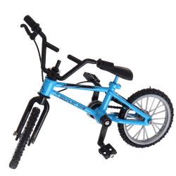 1:18 legering cykel modell leksak racing cykel cross mountain bi Blue