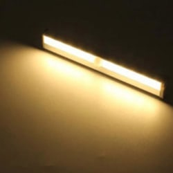 10 LED Trådlös rörelsesensor Ljus Infraröd induktionslampa Sup Light yellow