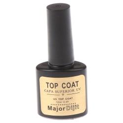 12 ml topplack transparent gel nagellack UV blötlägg primt Top Coat