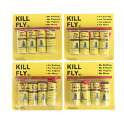 16 rullar Insekt Bug Fly Lim Lim Papper Catcher Trap Ribbon Strip Sti