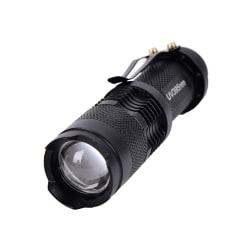 1 st UV ultraviolett LED-ficklampa Blacklight ljus 395 nm insp Black
