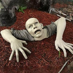 1st zombie form staty trädgård skulptur dekorera halloween