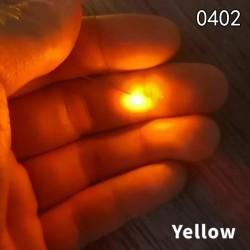 20st Förlödd Micro SMD LED Förkopplad ljusdiod 0402 # 06