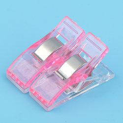 20st sömnadstillbehör godisfärg klädnypor dokumentmapp Pink