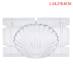 3D Seashell Candle Mold Candle Making Shell Scallop Soap Mold L