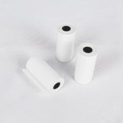 5 rullar utskrivbar klistermärke Pappersrulle direkt termiskt papper med S