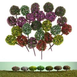 5st miniatyr blomma träd växter älva trädgård dekoration dollho
