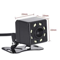 8 LED-bil Bakifrån Kamera Parkering Omvänd Backup-kamera N