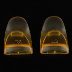 Ett par PS4-handtagsknappar L2R2-utlösaren höjdes och förlängdes